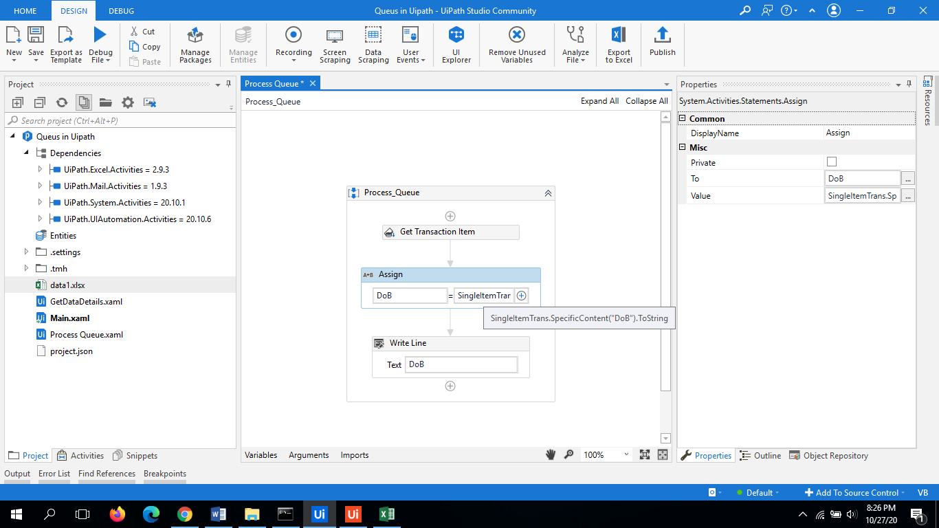 UiPath Queues | Working Example Step by Step Guide 7