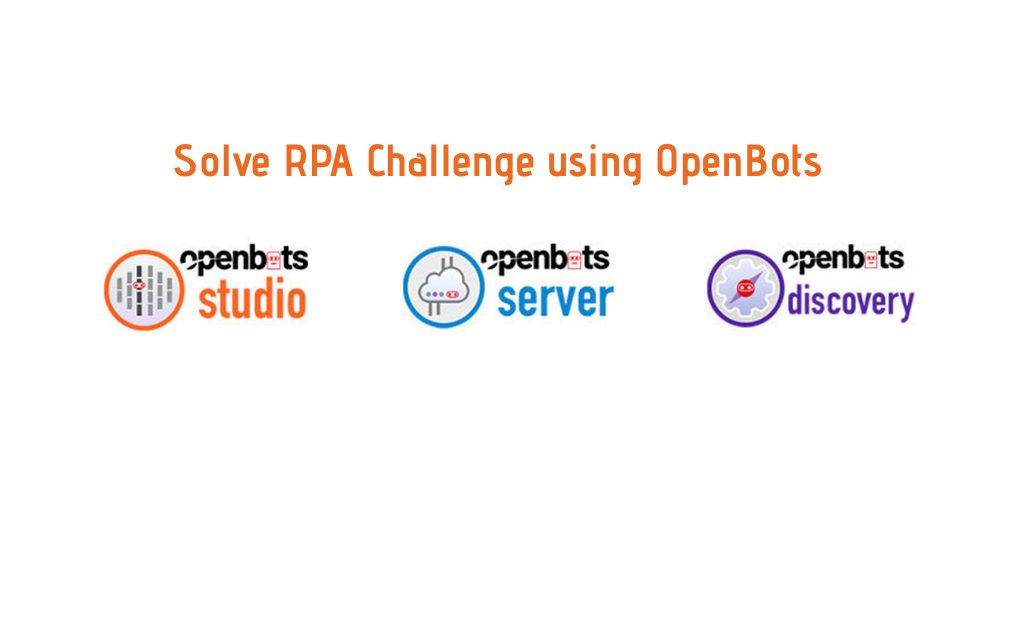 create your first automation in OpenBots Studio